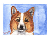 Welsh Corgi Notecards